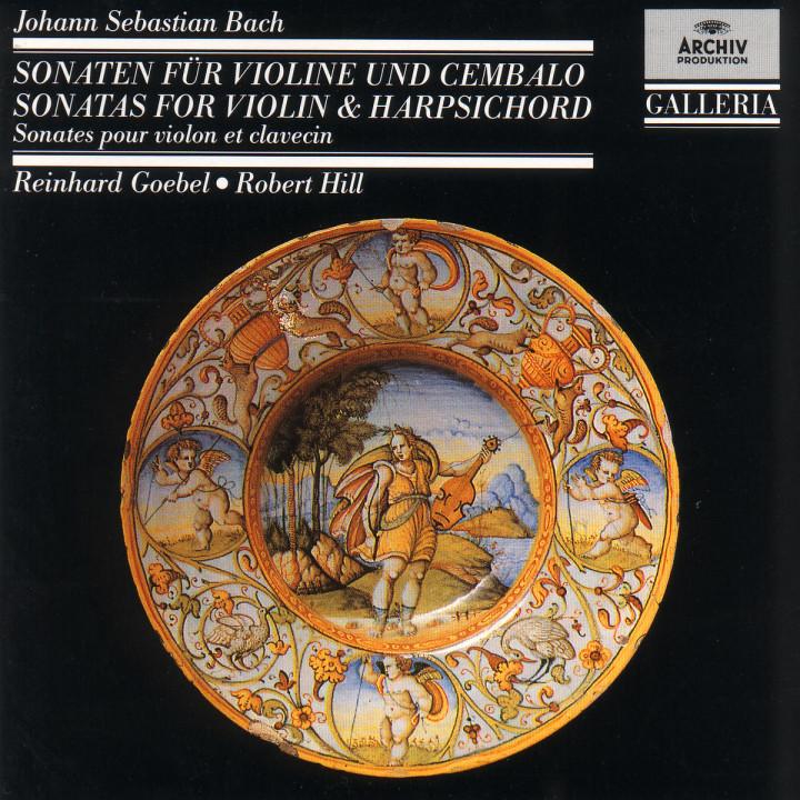 Violinsonaten G-dur BWV 1021; F-dur BWV 1022 0028942715224