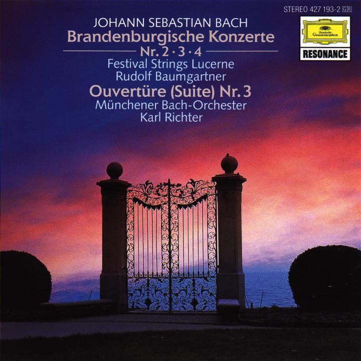 Die Brandenburgischen Konzerte Nr. 2; Nr. 3 und Nr. 4; Orchestersuite Nr. 3 0028942719321