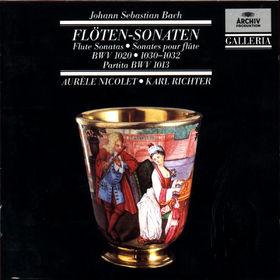 Johann Sebastian Bach, Flöten-Sonaten, 00028942711327