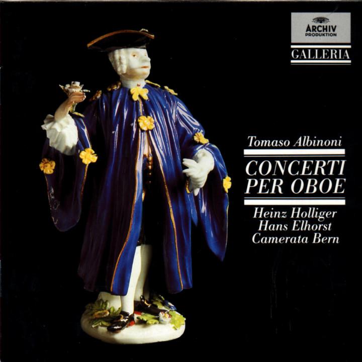 Albinoni: Oboe Concertos 0028942711127
