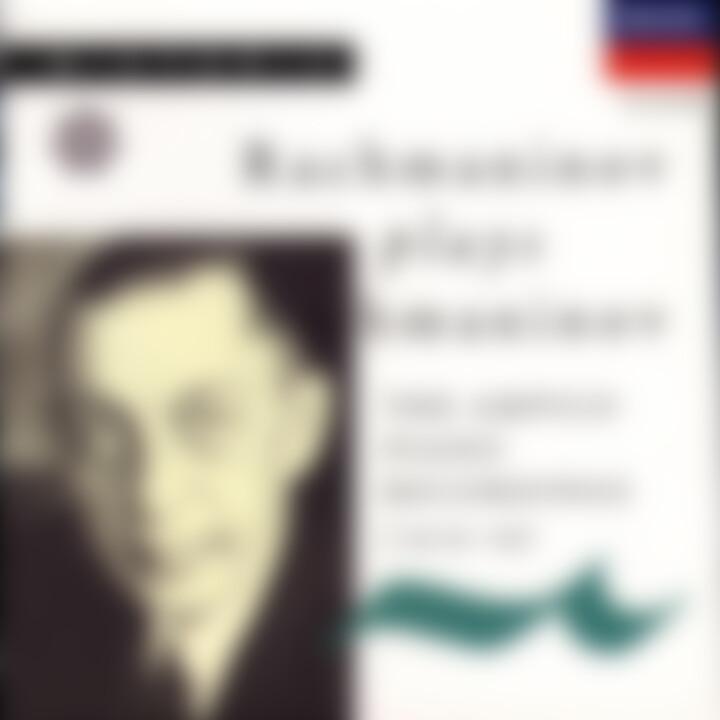 Rachmaninow spielt Rachmaninow 0028942596423