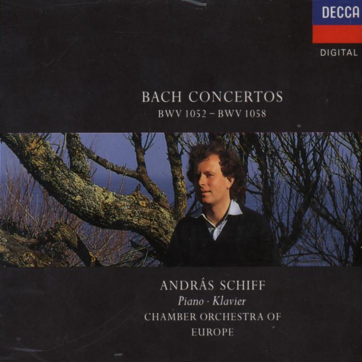 Konzerte für Cembalo und Streicher BWV 1052-1058 0028942567621