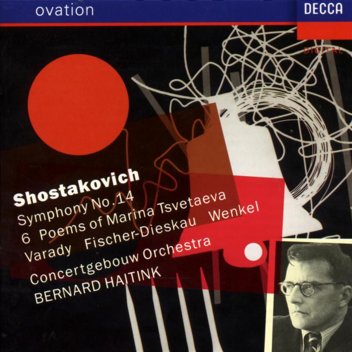 Sinfonie Nr. 14 g-moll op. 135; Zvetajeva-Gedichte op. 143a 0028942507427