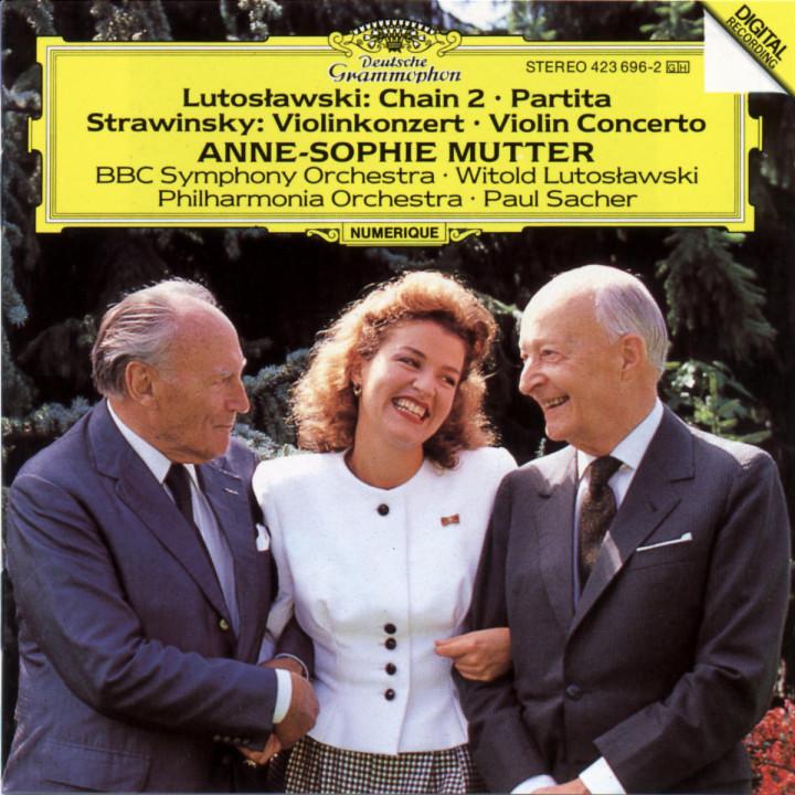Chain 2; Partita; Violinkonzert 0028942369621