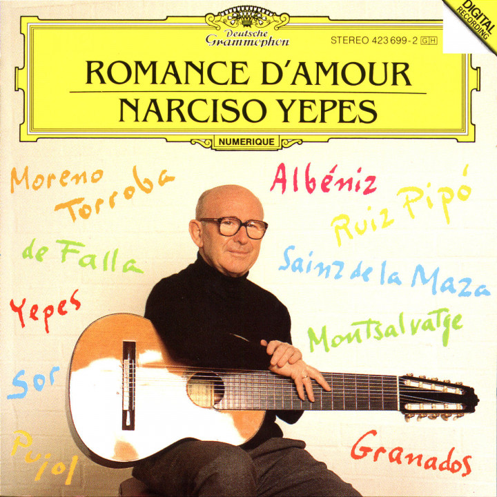 Narciso Yepes - Romance d'amour 0028942369920