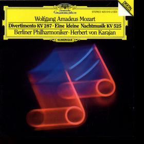 Die Berliner Philharmoniker, Divertimento KV 287, Eine kleine Nachtmusik, 00028942361027