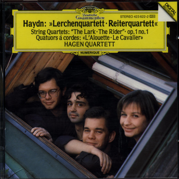 "Haydn: String Quartets ""The Lark"" / Op. 1 No. 1 / ""The Rider"" 0028942362222"