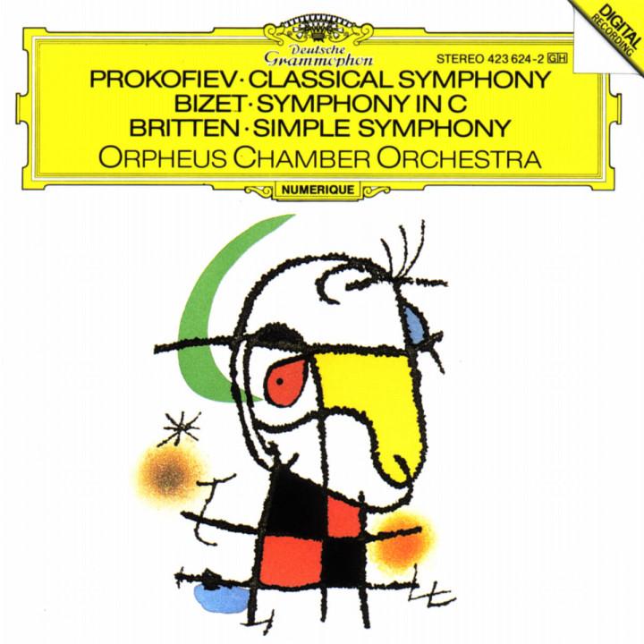 Klassische Sinfonie op. 25; Simple Symphony op. 4; Sinfonie Nr. 1 0028942362428