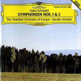 Franz Schubert, Sinfonien Nr. 1 D-dur D 82 & Nr. 2 B-dur D 125, 00028942365223