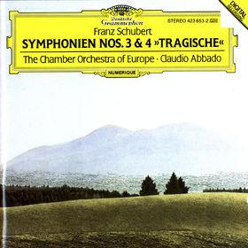 Franz Schubert, Sinfonien Nr. 3 D-dur D 200 & Nr. 4 c-moll D 417 Tragische, 00028942365322