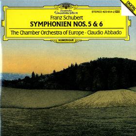 Franz Schubert, Sinfonien Nr. 5 B-dur D 485 & Nr. 6 C-dur D 589, 00028942365421