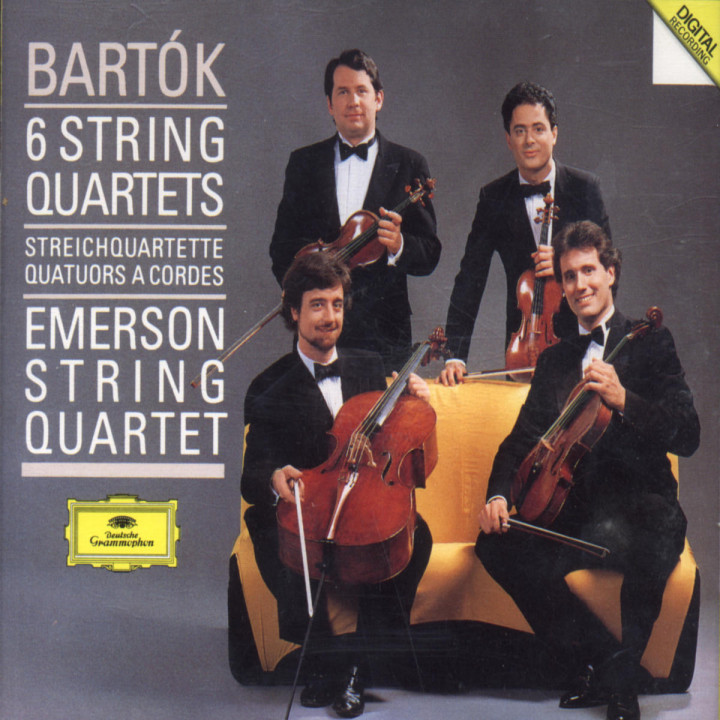 Bartók: The String Quartets 0028942365720