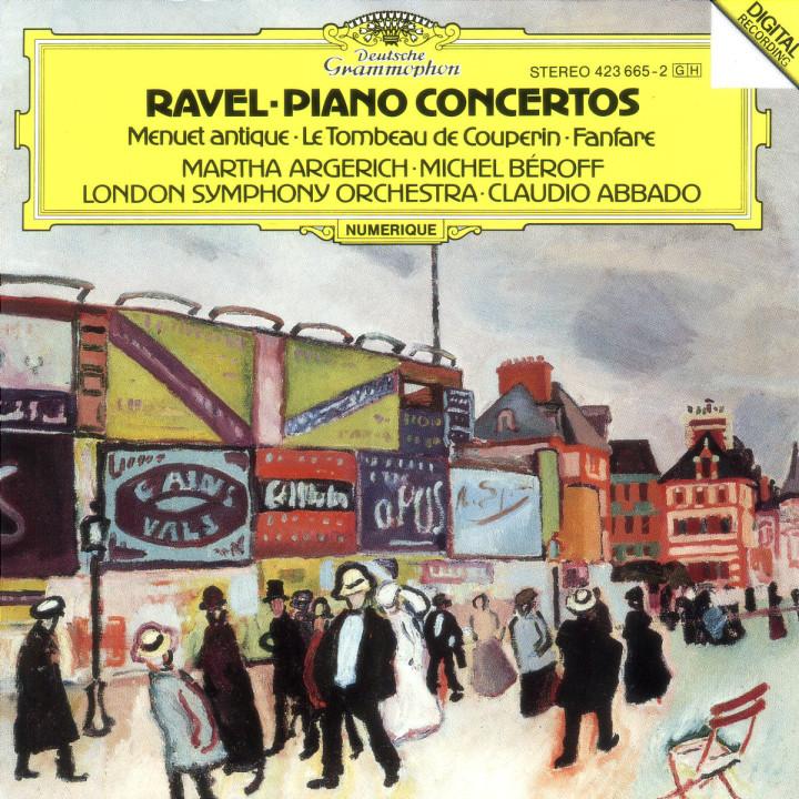 Klavierkonzert G-dur; Klavierkonzert D-dur (für die linke Hand); Le Tombeau de Couperin 0028942366525