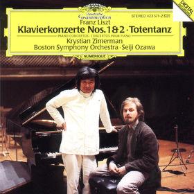 Seiji Ozawa, Klavierkonzerte Nr. 1 Es-dur & Nr. 2 A-dur, Totentanz, 00028942357129