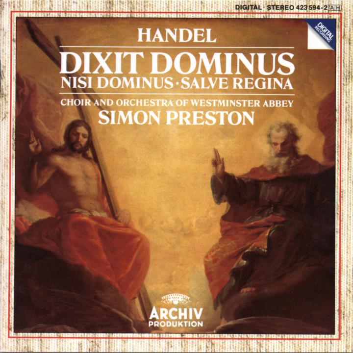 Dixit Dominus; Nisi Dominus; Salve Regina 0028942359422
