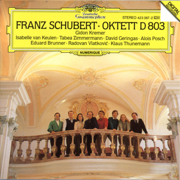 Schubert: Octet D 803 0028942336722