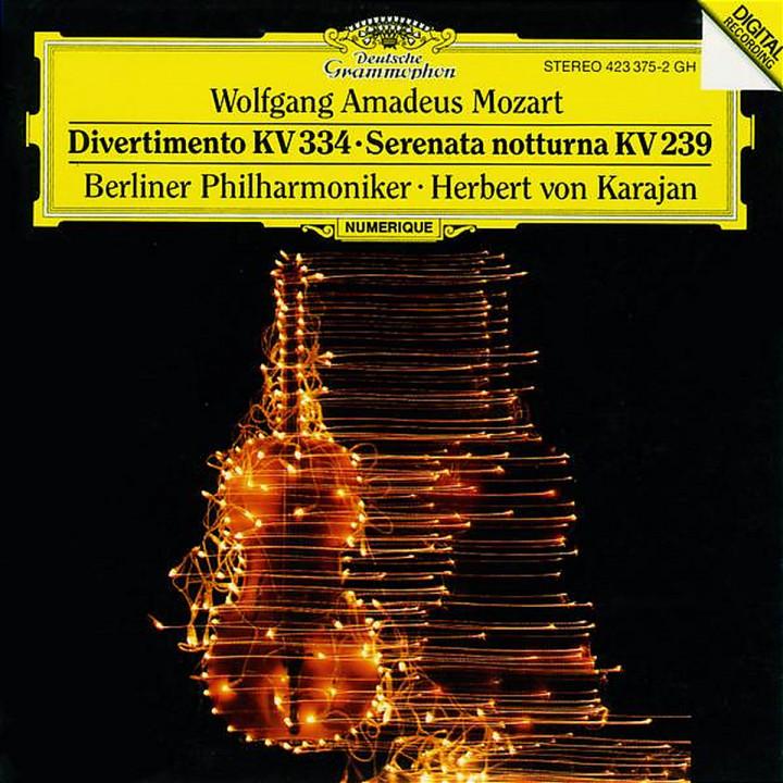 Divertimento KV 334; Serenata Notturna 0028942337527
