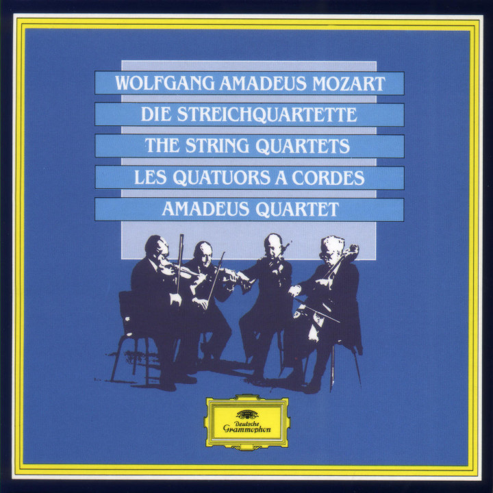 Mozart: The String Quartets 0028942330025