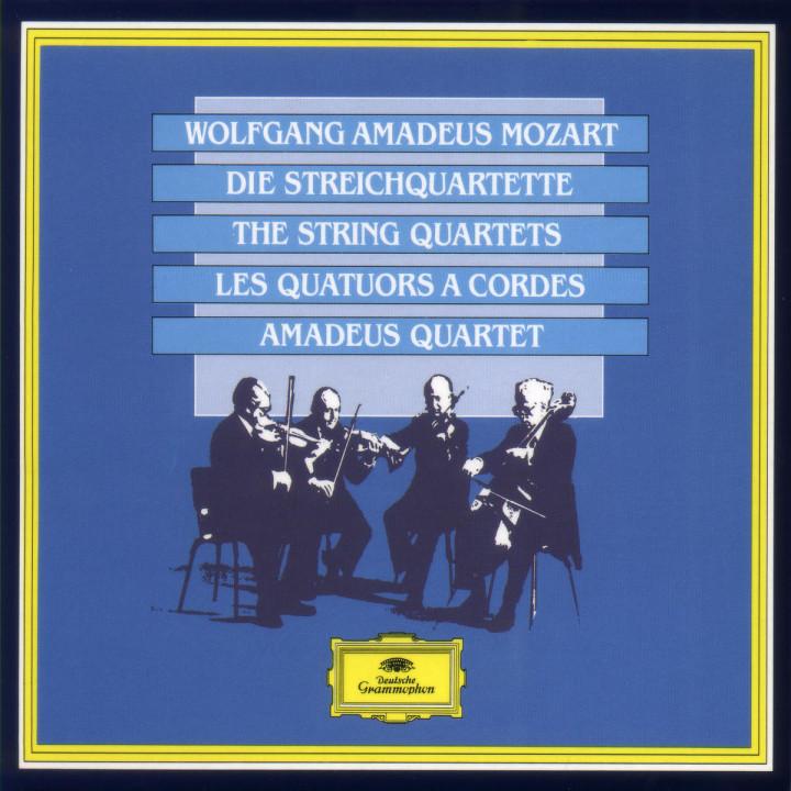 Mozart: The String Quartets 0028942330025