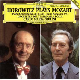 Carlo Maria Giulini, Mozart: Piano Concerto No.23 K.488, Piano Sonata K.333, 00028942328723