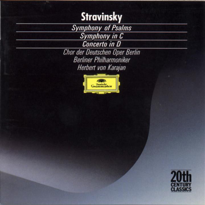 Psalmen-Sinfonie; Sinfonie in C-dur; Concerto in D-dur für Streichorchester 0028942325223