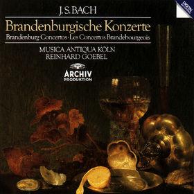 Johann Sebastian Bach, Die Brandenburgischen Konzerte, 00028942311626