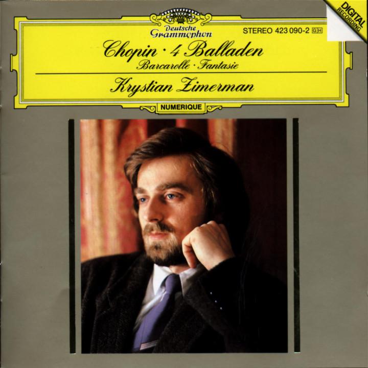 Chopin: Ballades; Barcarolle; Fantaisie 0028942309025