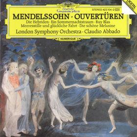 Felix Mendelssohn Bartholdy, Ouvertüren, 00028942310421