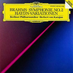 Johannes Brahms, Sinfonie Nr. 2 D-dur op. 73; Haydn-Variationen op. 56a, 00028942314221