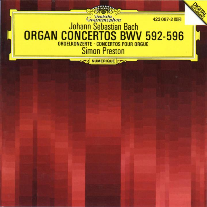 Orgelkonzerte BWV 592-596 0028942308725