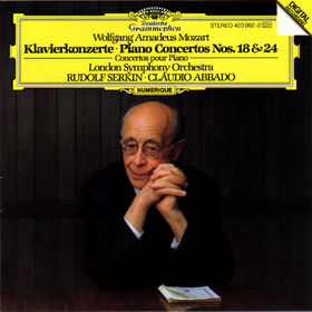 Wolfgang Amadeus Mozart, Mozart: Piano Concertos Nos.18 & 24, 00028942306226