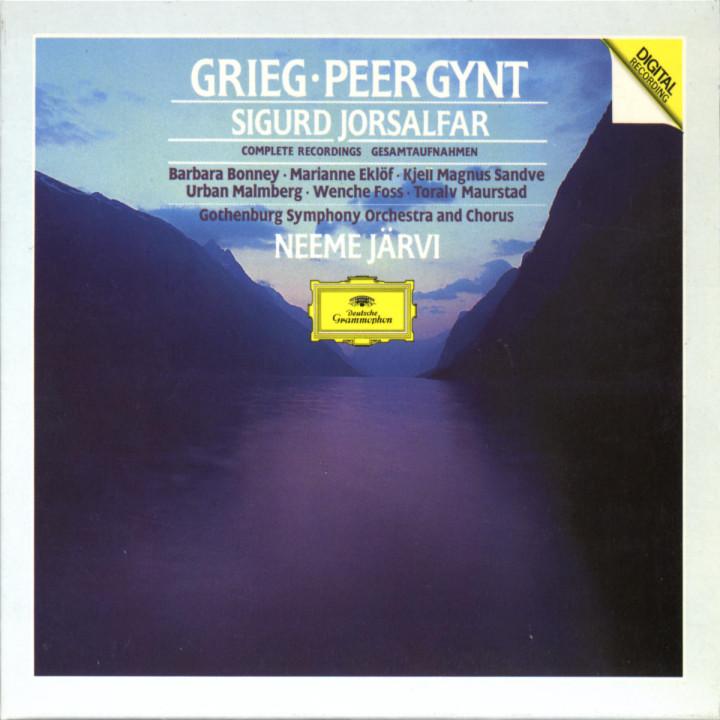Peer Gynt; Sigurd Jorsalfar 0028942307920