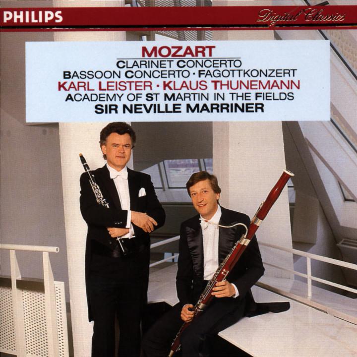 Mozart: Clarinet & Bassoon Concertos 0028942239023