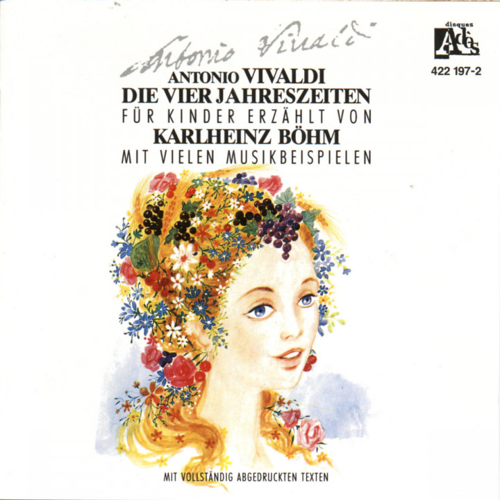 Die Vier Jahreszeiten Fur Kinder - A. Vivaldi 0028942219728