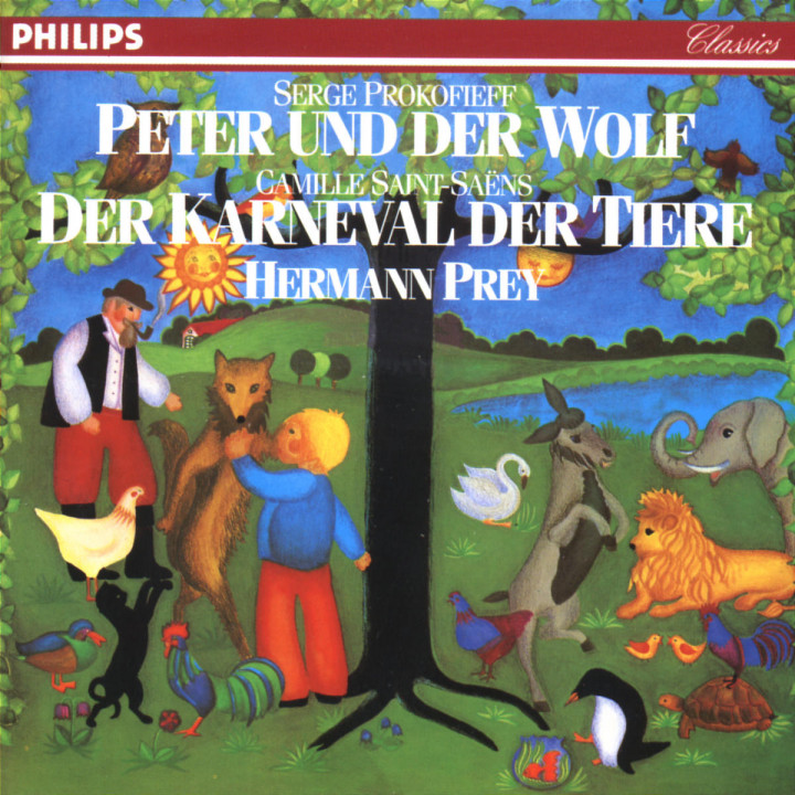 Peter And The Wolf Opus 67 0028942224623