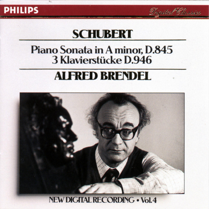 Schubert: Piano Sonata in A minor, D.845/3 Pieces, D.946 0028942207527