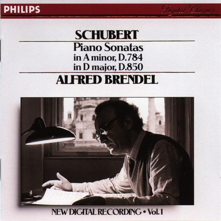 Schubert: Piano Sonatas in A minor, D.784 & D, D.850 0028942206320