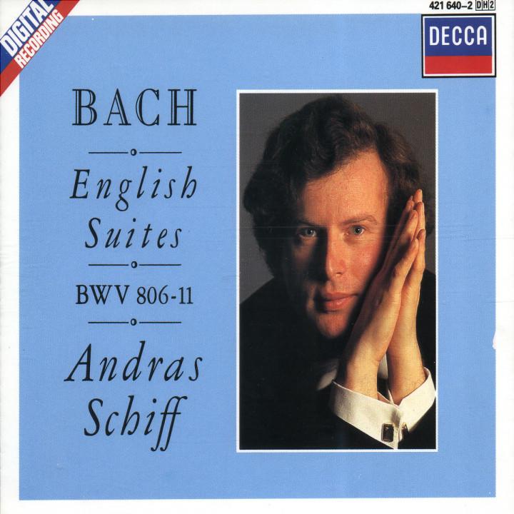 Englische Suiten Nr. 1-6 BWV 806-811 0028942164026