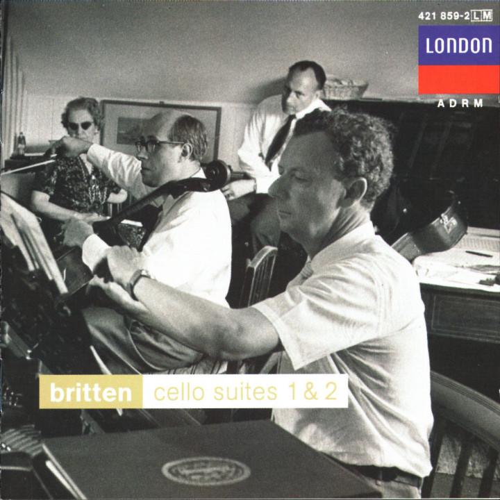 Britten: Cello Suites 1 & 2; Sonata for Cello and Piano 0028942185920