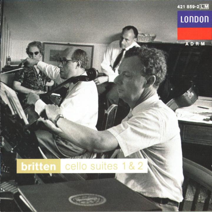 Britten: Cello Suites 1 & 2; Sonata for Cello and Piano 0028942185920