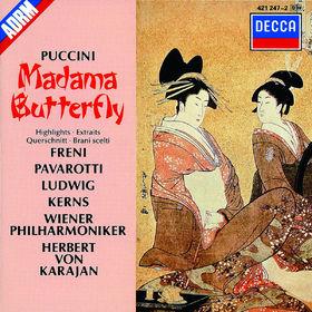 Christa Ludwig, Madama Butterfly (Auszüge), 00028942124721