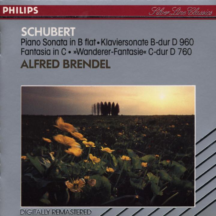 "Klaviersonate Nr. 22 B-dur D 960; Fantasie C-dur op. 15 D 760 ""Wanderer"" 0028942064427"