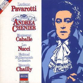 Luciano Pavarotti, Giordano: Andrea Chénier, 00028941011725