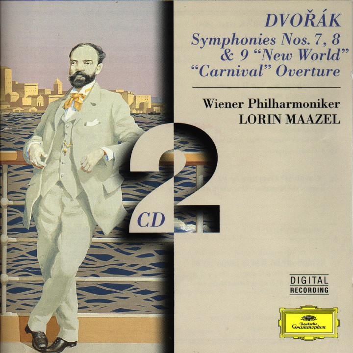 """Sinfonien Nr. 7 d-moll; Nr. 8 G-dur """"Englische""""; Nr. 9 e-moll """"Aus der Neuen Welt"""" 0028945312422"""