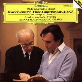 Wolfgang Amadeus Mozart, Klavierkonzerte Nr. 21 C-dur KV 467 & Nr. 23 A-dur KV 488, 00028941006820