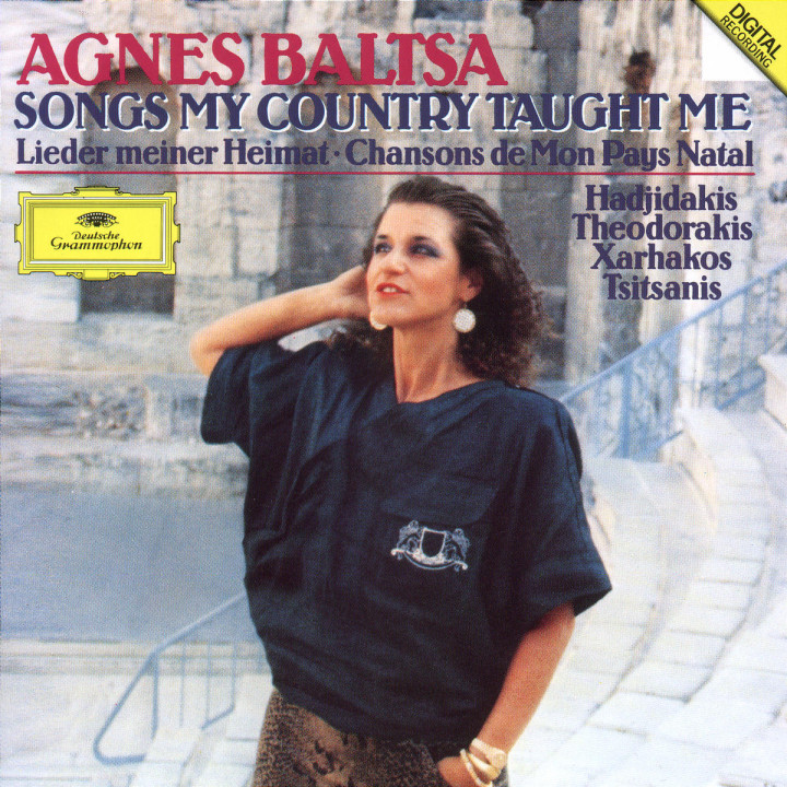 Agnes Baltsa - Songs My Country Taught Me 0028941923626