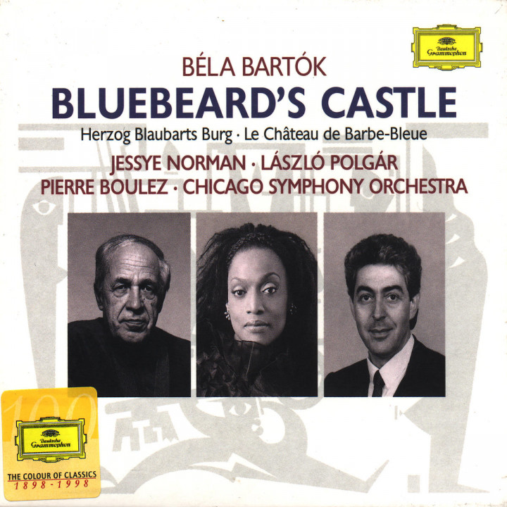 Bartók: Duke Bluebeard's Castle 0028944704020