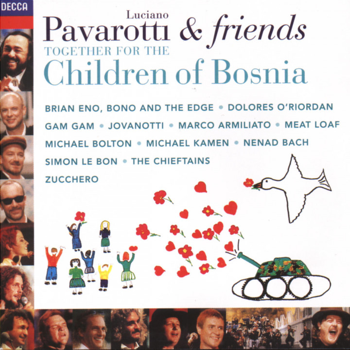 Pavarotti & Friends Together For The Children Of Bosnia 0028945210027