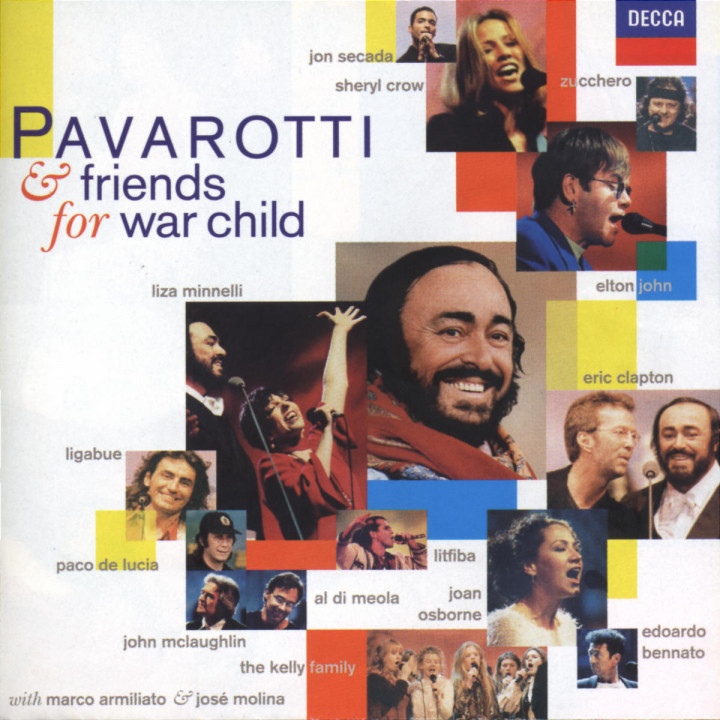 Pavarotti & Friends for War Child 0028945290021