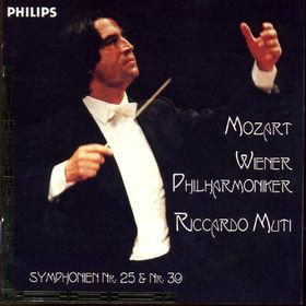 Wolfgang Amadeus Mozart, Sinfonien Nr. 25 g-moll KV 183&Nr. 39 Es-dur KV 543, 00028945444321
